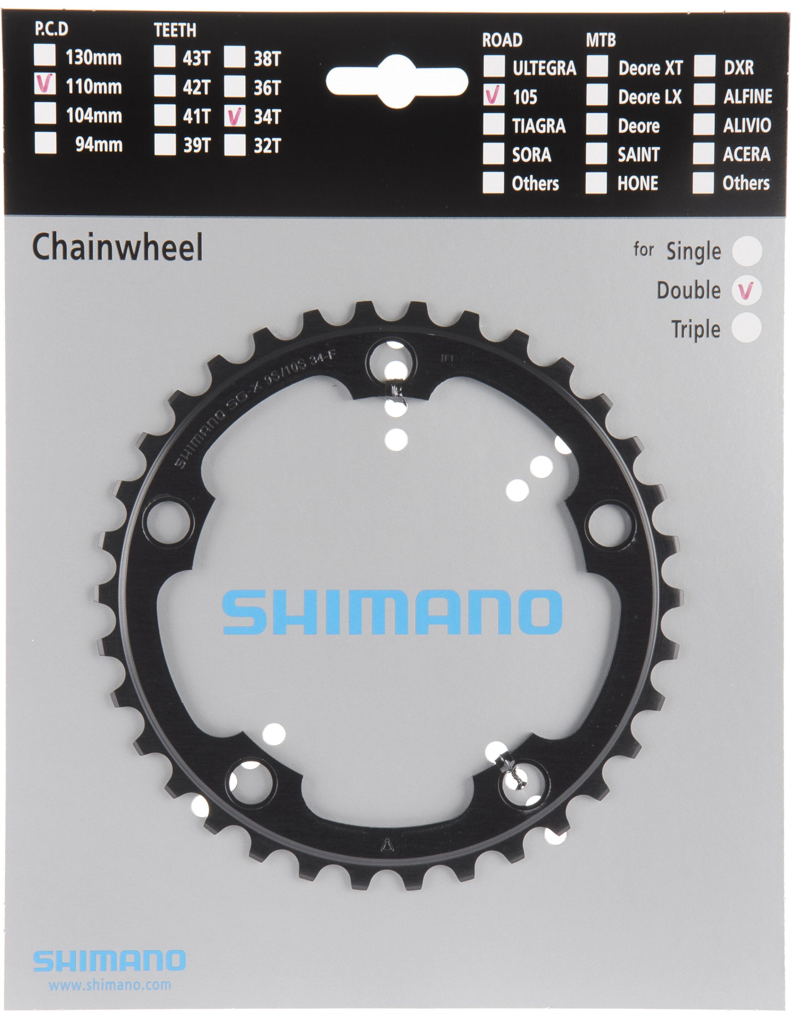 Shimano 105 Fc 5750 Kettingblad 10 Speed Zwart I Online Op